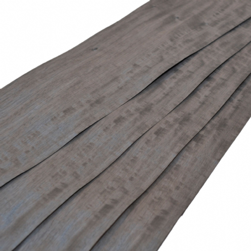 "Pre dyed Limba - graphite. Sheet: 6ft 3"" x 7"" ( 190 x 18 cm )"